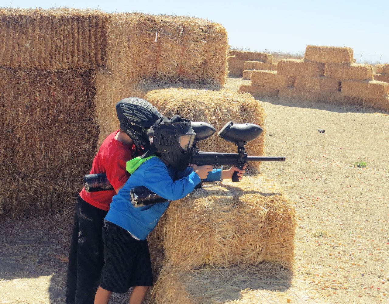 kids paintball party